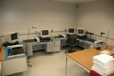 ColorScout A+'s and ColorScout AX's at NexPress - Click to enlarge