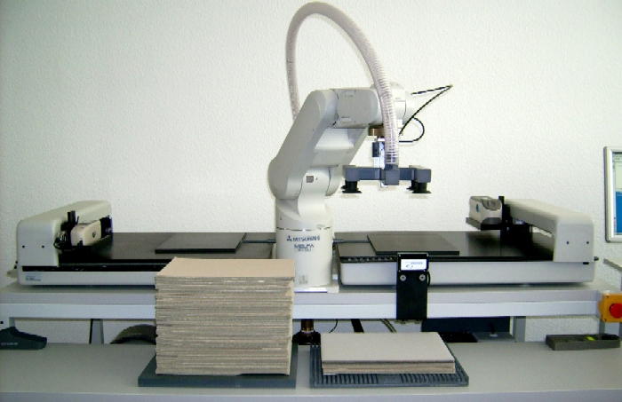 Automatic sample handling system